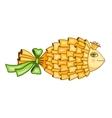 Goldfish symbol vector image vector image