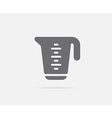 Measure Measuring Cup Element or Icon Ready for vector image