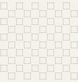 minimalistic square pattern vector image vector image