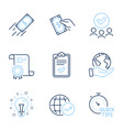 quick tips world statistics and pay money icons