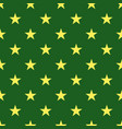 seamless pattern with stars decorative modern vector image vector image