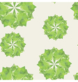 green triangle crystal seamless vector image