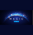 abstract shining background elegant magic space vector image