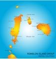 Romblon Island group vector image vector image