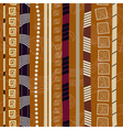 Tribal Colorful seamless texture vector image vector image