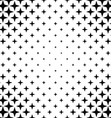 Black and white abstract pattern background vector image vector image