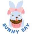 BunnyDay vector image vector image