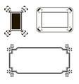 different frame set vector image vector image