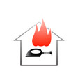 fire safety rules vector image