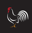 image of an cock design vector image vector image