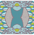 original ornament Psychedelic abstract t vector image vector image