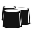 propolis icon simple style vector image vector image