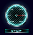 speedometer 2019 new year