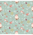 Wedding abstract seamless pattern in pastel soft vector image vector image