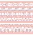 background with laces vector image vector image