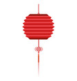 chinese red lanterns vector image vector image