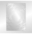 creative concept metal silver scheme vector image vector image