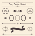 Fancy Design Elements and Icons Set vector image vector image