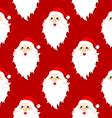 Santa Pattern vector image vector image