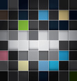 seamless blocks colour background Eps 10 vector image vector image
