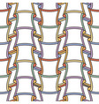 seamless pattern like bamboo trees or cups vector image vector image