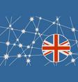 australia flag design concept vector image