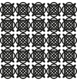 Seamless abstract geometric pattern with celtic vector image