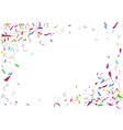abstract colorful confetti background isolated