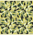 abstract military camouflage pattern backgr vector image vector image