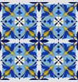 azulejo pattern vector image