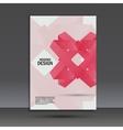 Beautiful origami creative element design vector image