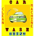 Car wash vector image vector image