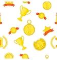 Championship pattern cartoon style vector image vector image