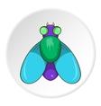 Fly icon cartoon style vector image vector image