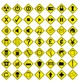 Road Sign Computer Icons vector image vector image
