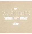 Template grunge paper valentines day card and bann vector image vector image