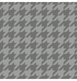 Tile tartan plaid grey houndstooth background vector image vector image