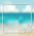 wind rose marine background vector image