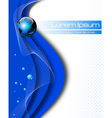 Clean Earth abstract concept vector image vector image
