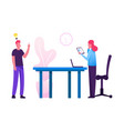 company teamwork brainstorm collaboration in vector image vector image