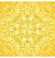 Golden Triangles Foil Texture Seamless vector image vector image