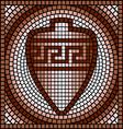 Greek mosaic vector image