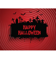 halloween background 2509 vector image vector image