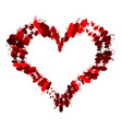 heart grunge3 0 00 vector image
