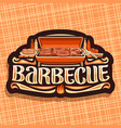 logo for barbecue vector image