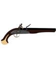 Musket gun vector image