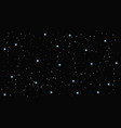 starry sky background flat vector image