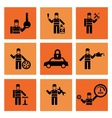Auto Service Car Mechanic Repair Icons vector image vector image