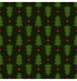 Dark green Christmas fir tree seamless pattern vector image vector image