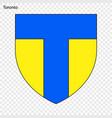 emblem of toronto vector image vector image